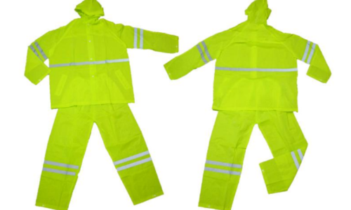 Raincoat Suit (Neon Yellow)